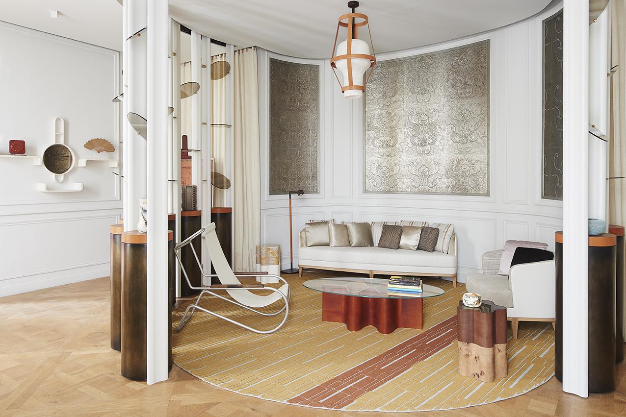 Bande-son minimaliste pour La Monnaie de Paris à l'occasion d'un projet AD Interior