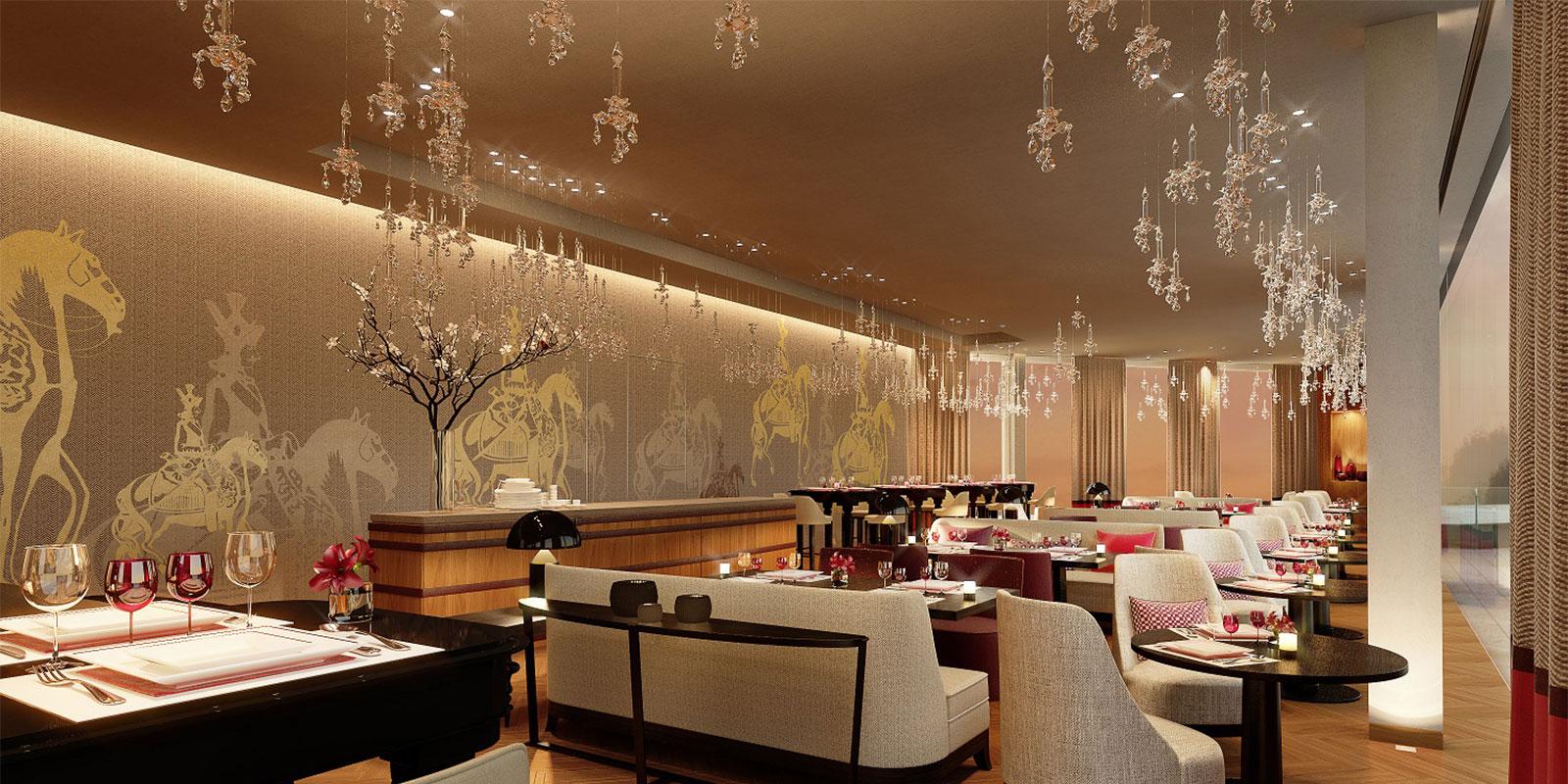 Ambiance musicale pour le restaurant Royal Champagne
