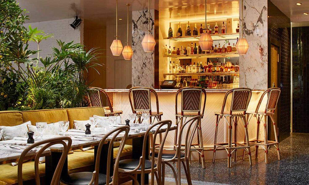 Design sonore pour le restaurant l'alcazar groupe D&D London