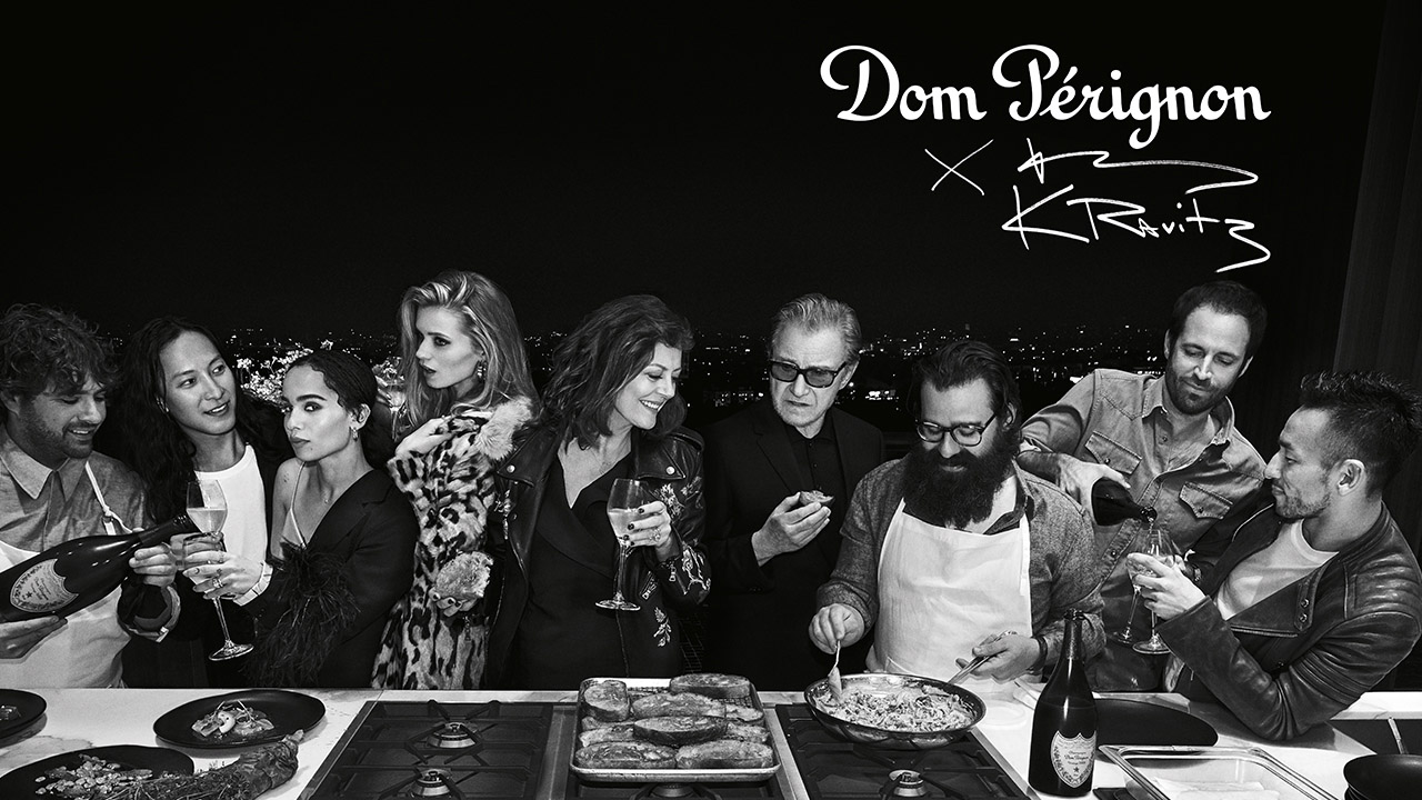 Création de la charte musicale de Dom Pérignon, diner sonore par O+CO