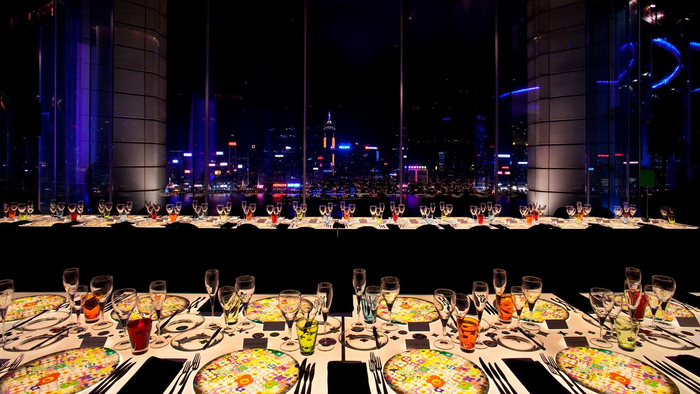 DJ mix pour un diner LVMH par O+CO design studio